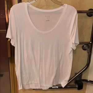 A New Day white scoop neck tee